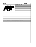 GRIZZLY BEAR Summary and Mural Paper