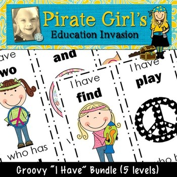 """GROOVY Games (5 Levels of """"I Have...Who Has?"""")"""