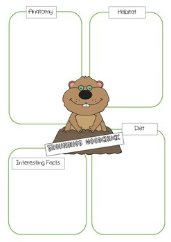 GROUNDHOG ACTIVITY PACK - PUPPETS, WEATHER WATCHING, MASK, WORD SEARCH ETC