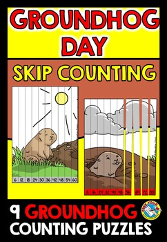 GROUNDHOG DAY ACTIVITIES (GROUNDHOG DAY MATH CENTER) SKIP COUNTING CENTER