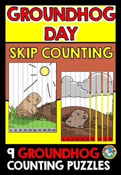 GROUNDHOG DAY ACTIVITIES (GROUNDHOG DAY MATH CENTER) SKIP