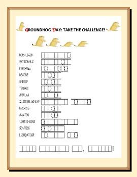 GROUNDHOG DAY CHALLENGE!