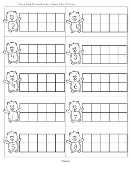 Groundhog Day Literacy and Math Centers and Activities for Preschool
