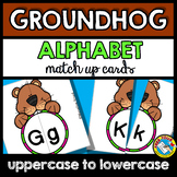 GROUNDHOG DAY ACTIVITIES PRESCHOOL (ALPHABET LETTERS MATCH UP) FEBRUARY CENTER