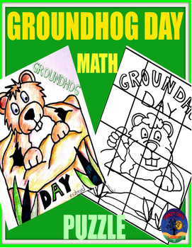 GROUNDHOG DAY MATH PUZZLE