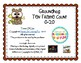 GROUNDHOG DAY PLAYDOUGH  TEN FRAME COUNTING BOARDS 0-20 MA