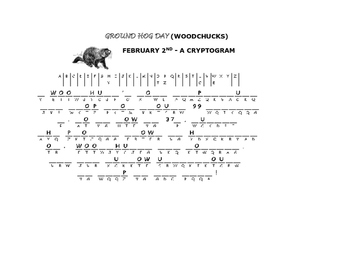 GROUNDHOG DAY-CRYPTOGRAM