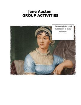 GROUP ACTIVITIES FOR ANY JANE AUSTEN NOVEL