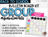 GROUP ORGANIZATION- Rotation Board Bundle (Daily 5 and Mat