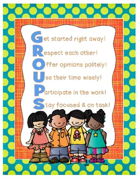 GROUPS Acronym Poster