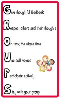 GROUPS Poster - Behaviour Management