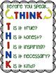 GROUPS, THINK, SLANT Acronym Posters
