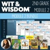 100% EDITABLE - Wit & Wisdom - 2nd Grade - Module 2 - BUNDLE