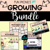 GROWING BUNDLE **1st GRADE***Fun Phonics!! All you need to teach PHONICS