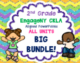 GROWING BUNDLE! 2nd Grade Skills PowerPoints ALL units EngageNY CKLA ALIGNED
