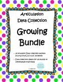 Articulation Data Collection Progress Monitoring Bundle #dec2018slpmusthave