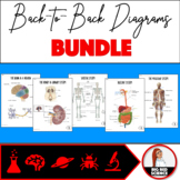 GROWING BUNDLE - Body Systems Back-to-Back Diagrams