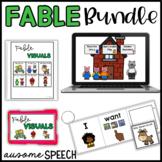 BUNDLE!  Boom Cards & Visuals: Fables
