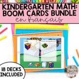 BUNDLE Boom Cards: French Kindergarten Math