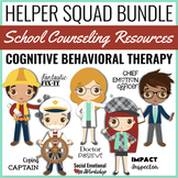CBT Activities and Games for School Counseling Bundle