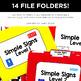 Simple Signs File Folders