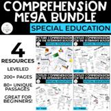 Special Education Comprehension MEGA Bundle for the Beginn
