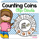 Money Clip Cards ~ Counting Coins