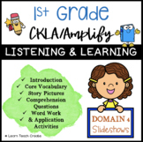 Grade 1 CKLA | Domain 4 | Listening and Learning Slideshows