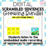 DIGITAL Sight Word Scrambled Sentences