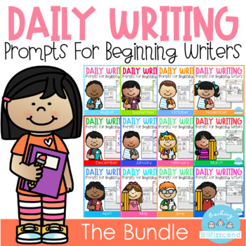 Daily Writing Prompts (THE BUNDLE)