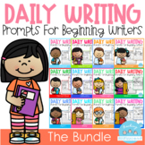 Daily Writing Journal Prompts for Beginning Writers (THE BUNDLE)