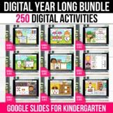 GROWING BUNDLE Digital Activities Games Google Slides Spri