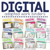 GROWING BUNDLE - Digital Adapted Work Binders
