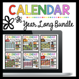 GROWING BUNDLE Digital Calendar and Morning Meeting | Kind