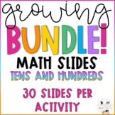 GROWING BUNDLE! Digital Math Slides - Place Value- Google Slides