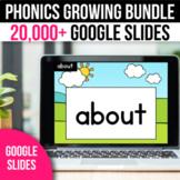 GROWING BUNDLE Digital Phonics CVC CVCe Sight Words Blends
