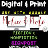 Notice and Note NONFICTION and FICTION Signposts PRINT and