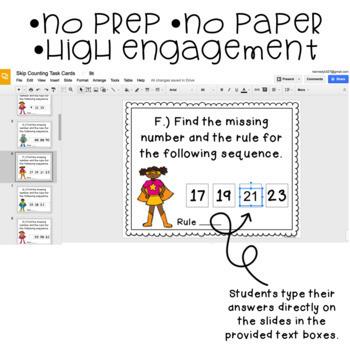 Google Classroom™ Distance Learning Activities: Digital Task Cards Mega Bundle