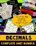 GROWING BUNDLE - Everything to Teach a Decimals Unit