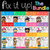 Fix It Up Sentences (THE BUNDLE)