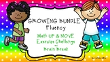 GROWING BUNDLE Fluency UP & MOVE Exercise Challenge and Brain Break