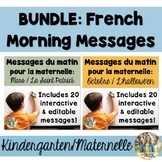 BUNDLE: Full Year of French Morning Messages/Messages du matin
