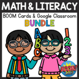 Math and Literacy Boom Cards & Google Classroom Distance Learning