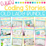 GROWING BUNDLE Guided Coding Stories - Old Lady