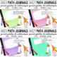 BUNDLE - Journal quotidien de maths (Daily Math Journal Prompts) - 1E ANNÉE