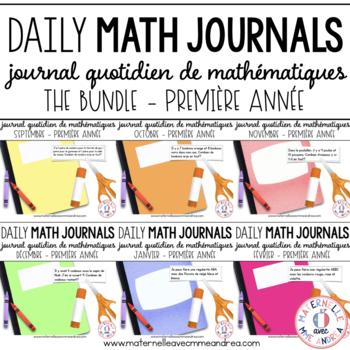 BUNDLE - Journal quotidien de maths (Daily Math Journal Pr