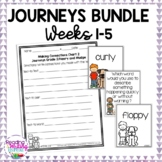 GROWING BUNDLE - Journeys Second Grade -  Weeks 1-5