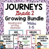 GROWING BUNDLE - Journeys Second Grade - Weeks 11-15
