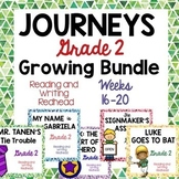 GROWING BUNDLE - Journeys Second Grade - Weeks 16-20