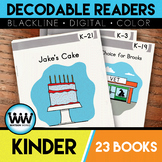 GROWING BUNDLE-Kinder Phonics Decodable Readers~23 Color/B